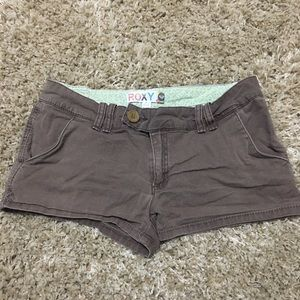 Juniors Roxy size 9 Brown Shorts